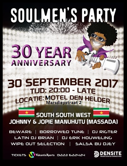 Soul Men's Party 30 jaar @ Motel Den Helder | Den Helder | Noord-Holland | Nederland