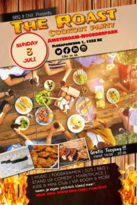 The Roast Cookout Party @ Amsterdam-noord (Naast restaurant -bar Pompet) | Amsterdam | Noord-Holland | Nederland